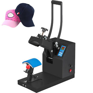 Heat Press Transfer Digital Clamshell 7 x3 5 Hat Cap Sublimation Machine New