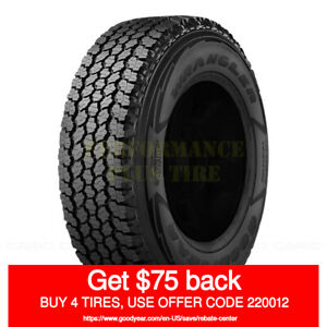 Goodyear Wrangler A t Adventure Kevlar 275 60r20 115t quantity Of 2