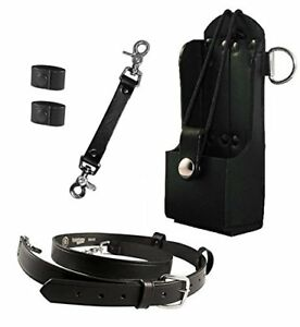 Boston Leather Firefighter Bundle Anti sway Strap For Radio Strap Radio Stra