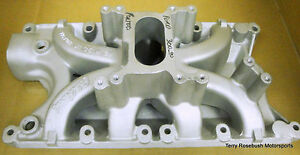 Edelbrock 2940 Victor Jr 351w 2v Ford Intake Professionally Ported