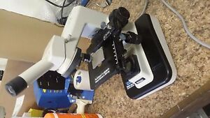 Nikon Storz Diascope Ii Inspection Microscope 100x In Good Working Condition
