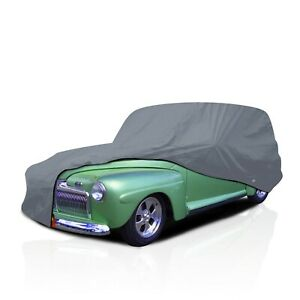 csc 4 Layer Waterproof Car Cover For Chevy Sedan Delivery 1953 1954
