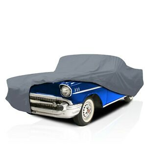 csc 4 Layer Full Car Cover For Chevy Bel Air 2 dr 1953 1954 1955 1956 1957