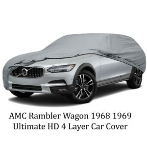 Amc Rambler Wagon 1968 1969 Ultimate Hd 4 Layer Car Cover