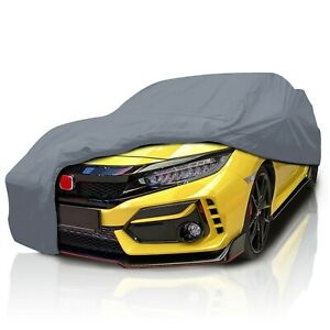 csc 4 Layer Full Car Cover For Honda Civic Si 2001 2002 2003 2005 Hatchback