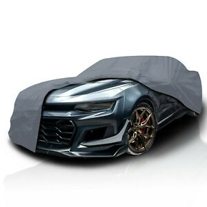 4 Layer Waterproof Car Cover For Chevy Camaro 2010 2012 Durable semi Custom Fit
