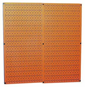 Wall Construction Boards Control Orange Metal Pegboard Pack Slotted Stable Panel