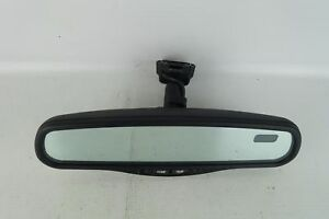 2001 2002 Mitsubishi Montero Rear View Mirror Auto Dim Compass Temp Oem 01 02