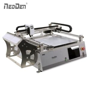 Auto Smt Pick And Place Machine Vision System Neoden3v std 23 Feeders 0402 Ic