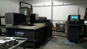 4202 w Cnc Waterjet Cutting System