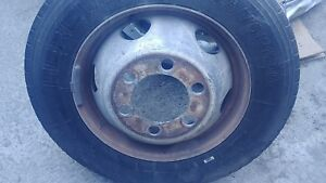 00 01 02 Npr W4500 6 0l 5 7l V8 19 5 Steel 6 Lug Wheel Only No Tire Used