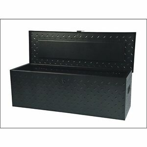 Truck Tool Box Atv Rv Trailer Flatbed Steel Under Body Bed Storage Boxes 45 3 8