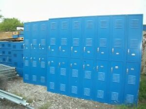 Metal School gym storage employee lockers cabinets Not Amount Shown In Photo