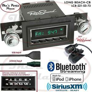 Retrosound Long Beach Cb Radio Bluetooth Ipod Usb Mp3 3 5mm Aux In 221 03 Ford