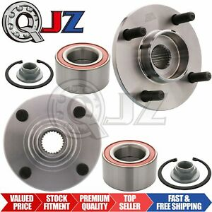 For 2000 2011 Ford Focus Front Pair 2 Wheel Hub Assembly Oe Replacement Kit