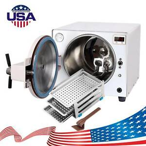 Dental Autoclave Steam Sterilizer Medical Sterilization Lab Equipment 18l