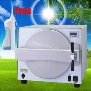 18l Medical Steam Sterilizer Autoclave Dental Lab Equipment gift Oral Irrigator