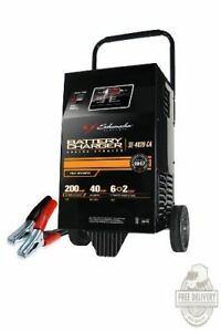 Jump Starter 200 Amp 6 12v Led Car Auto Battery Charger Heavy Duty Booster Wheel