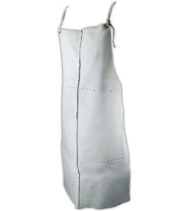 Magid Weld Pro Grey Split Leather Safety Apron Each