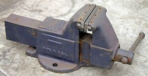 Columbian 505 m2 Heavy Duty Machinists Fixed Base Bench Vise