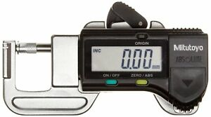 Outside Micrometers Mitutoyo 700 118 20cal Quick Mini Digital Thickness Gauge