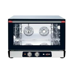 Axis Ax 824rh Axis Countertop Full Size Convection Oven 208 240v