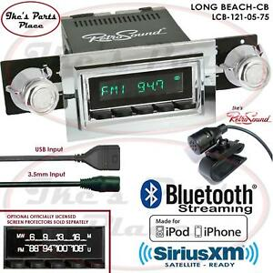 Retrosound Long Beach Cb Radio Bluetooth Ipod Usb Mp3 3 5mm Aux In 121 05 Ford