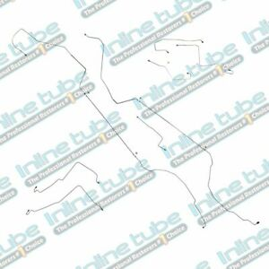 1997 03 Chevrolet Malibu Complete Preformed Brake Lines Kit Set Abs Tc Tubes Oe