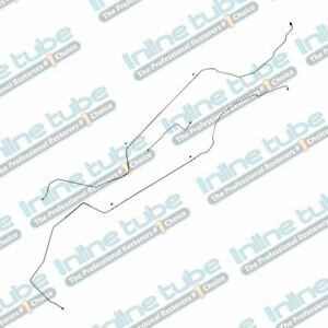 1997 03 Chevrolet Malibu Mid Chassis Brake Lines Kit Disc Disc 3pc Abs Tc Ss