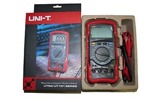 Uni t Ut57 Digital Lcd Standard Precision Handheld Digital Multimeter Ut 57