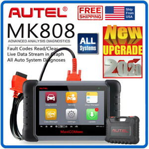 Autel Maxicom Mk808 Car Full System Diagnostic Scanner Tool Reset Code Reader