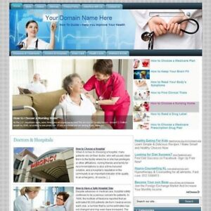 Established Health Care Affiliate Income Online Store Business Website For Sale