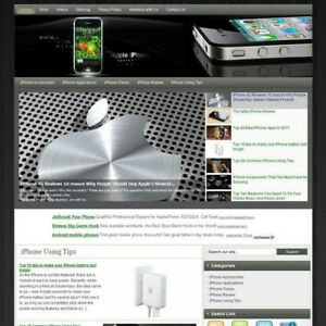 Established Apple Iphone Business Website For Sale Best Way Earn Money At Home