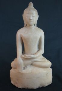 17th Century Antique Marble Buddha Statue From Burma Antique Buddha Statues