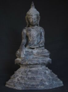 19th Century Antique Bronze Buddha Statue From Burma Antique Buddha Statues