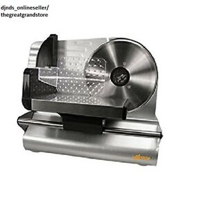 Cutter Electric Meat Slicer Machine Mandoline Deli Chopper Cheese Kitchen Food