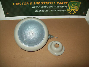 8n 9n Jubilee Ford Tractor Worklight 6 Volt Dimpled Lens With Toggle Switch
