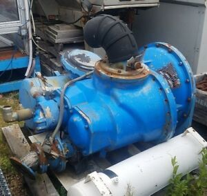 250 Hp 950 Cfm Rotary Screw Air Compressor Head Only From Quincy Air Compressor