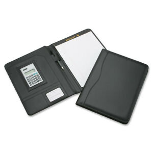 Nib Nish Calculator Portfolio Writing Pad 9 3 4 x3 4 x12 3 4 Bk 4844563