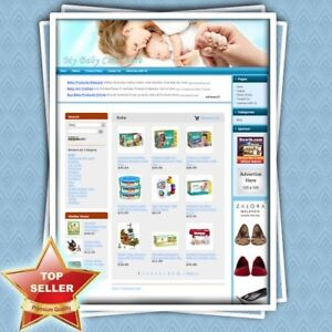Baby Care Store Professionally Designed Affiliate Website Unlimited Support