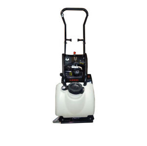 5 5hp Gas Vibration Plate Compactor Walk Behind Tamper W Water Tank