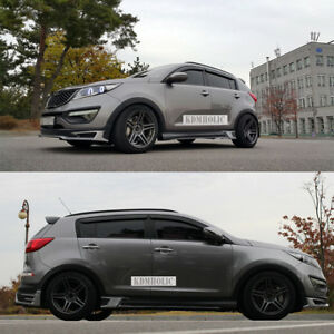 Aeropeak Side Skirts For Kia Sportage R 11 15