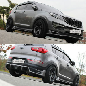 Aeropeak Lip Kit Appearance Package F S R For Kia Sportage R 11 15