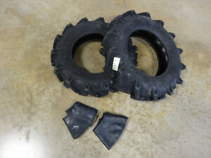 Two New 7 14 Bkt Tr 126 Farm Tractor Lug R 1 Tires Tubes