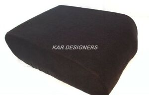 Fabric Center Console Lid Armrest Cover Protector Black Fits 07 13 Toyota Tundra