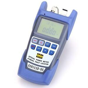 All in one Fiber Optical Power Meter 70 10dbm 10km Fiber Optical Cable Tester