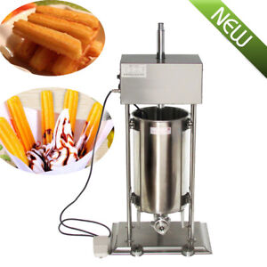 15l Commercial Auto Electric Spanish Churros Maker Baker Making Machine 25w Ce
