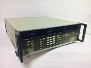 Gigatronics 6061a Signal Generator 10 Khz 1 050 Ghz Sold As Is
