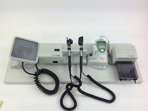 Welch Allyn 767 Wall Mount W Blood Pressure Otoscope Thermometer Dispenser