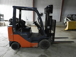 2007 Toyota 8fgu25 Lp Forklift Only 354 Hrs